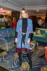 LADY ALICE MANNERS at the Duresta For Matthew Williamson Exclusive Launch At Harrods, Knightsbridge, London on 10th March 2016.