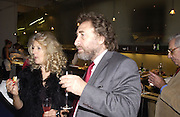 Howard Jacobson. party for Anthony Lane's book hosted  given by David Remnick, editor of the New Yorker. River Cafe. 12 November 2002.  © Copyright Photograph by Dafydd Jones 66 Stockwell Park Rd. London SW9 0DA Tel 020 7733 0108 www.dafjones.com