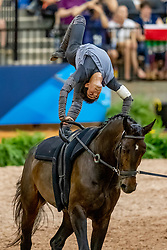 Clavijo Juan Martin, COL, Freeke, Lunger Plamer Jill<br /> World Equestrian Games - Tryon 2018<br /> © Hippo Foto - Stefan Lafrenz<br /> 19/09/18
