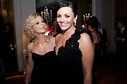 EMILIA FOX; Martine McCutcheon, Specsavers Crime Thriller Awards.  Award ceremony celebrating the best in crime fiction and television. <br /> Grosvenor House Hotel, Park Lane, London. 21 October 2009