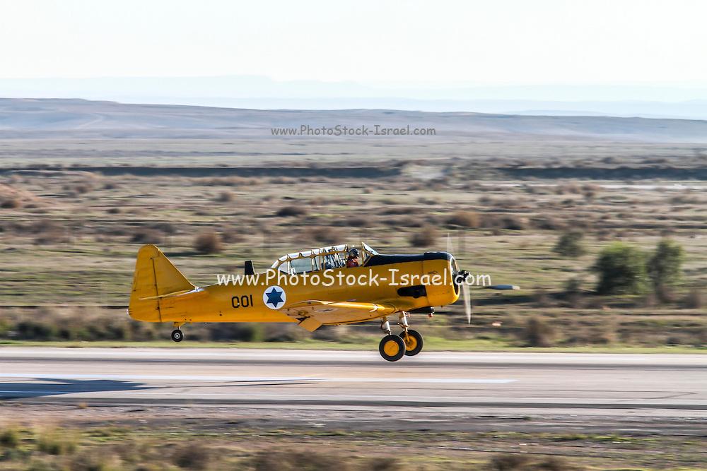 Israeli Air force North American Aviation T-6 Texan single-engine advanced trainer aircraft