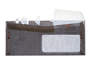 back view of an opened security bank statement envelope