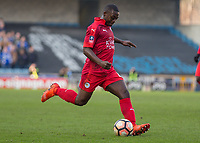 Football - 2016 / 2017 FA Cup - Fifth Round: Millwall vs. Leicester City <br /> <br /> Nampalys Mendy of Leicester City at The Den<br /> <br /> COLORSPORT/DANIEL BEARHAM