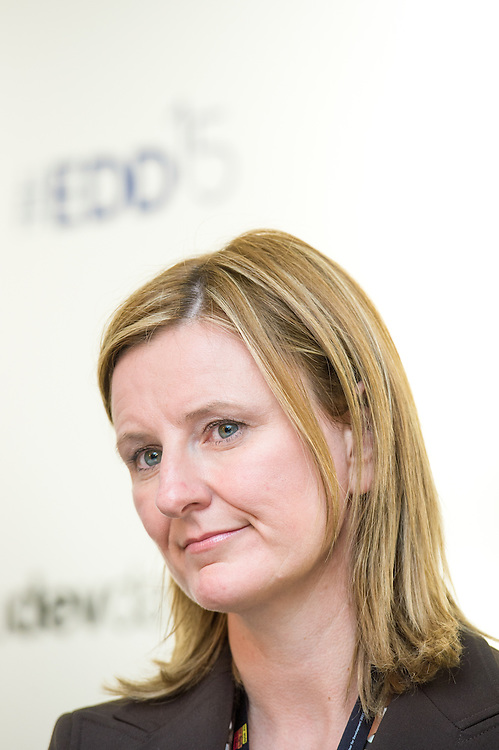 04 June 2015 - Belgium - Brussels - European Development Days - EDD - Gender - A matter of birth , life and death - Walking in the shoes of women and girls without access to water , sanitation and hygiene - Carolyn Jones , Global RandD Manager and Group Leader Hygiene , Unilever © European Union
