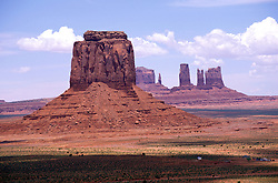 AZ, Monument Valley, Elephant Butte   .Photo Copyright: Lee Foster, lee@fostertravel.com, www.fostertravel.com, (510) 549-2202.Image: azmonu209