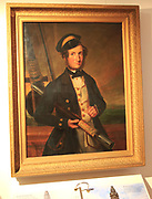 Painting of John Hugh Wadham Smyth-Pigot (1819-1892), c 1850 Weston-super-Mare museum, Somerset, England, UK