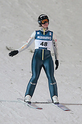24.11.2012, Lysgards Schanze, Lillehammer, NOR, FIS Weltcup, Ski Sprung, Damen, im Bild Mattel Coline (FRA) during the womens competition of FIS Ski Jumping Worldcup at the Lysgardsbakkene Ski Jumping Arena, Lillehammer, Norway on 2012/11/23. EXPA Pictures © 2012, PhotoCredit: EXPA/ Federico Modica