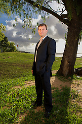 Ézio Rezende, gerente geral do Projeto Pescar na beira do rio Guaíba, em Porto Alegre. FOTO: Jefferson Bernardes/Preview.com