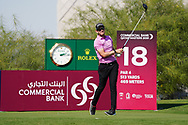 Joachim B Hansen (DEN) on the 18th during Round 1 of the Commercial Bank Qatar Masters 2020 at the Education City Golf Club, Doha, Qatar . 05/03/2020<br /> Picture: Golffile | Thos Caffrey<br /> <br /> <br /> All photo usage must carry mandatory copyright credit (© Golffile | Thos Caffrey)