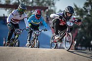 #7 (GRAF David) SUI during practice at Round 9 of the 2019 UCI BMX Supercross World Cup in Santiago del Estero, Argentina