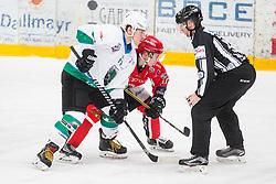 Hockey match between HDD Jesenice and SZ HD Olimpija in 1st match of Quarterfinals of Alps Hockey League, on March 6, 2018 in Dvorana Podmezakla, Jesenice, Slovenia. Photo by Ziga Zupan / Sportida