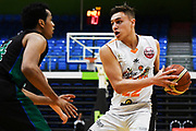 Taylor Hawks Hyrum Harris in action during a match against the Auckland Super City Rangers.<br /> Super City Rangers v Taylor Hawks, NBL NZ, Trusts Arena, Auckland, New Zealand. 7 July 2018. © Copyright Image: Marc Shannon / www.photosport.nz.