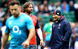 England head coach Eddie Jones smiles - Mandatory by-line: Robbie Stephenson/JMP - 26/02/2017 - RUGBY - Twickenham Stadium - London, England - England v Italy - RBS 6 Nations round three