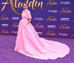 Michael Buffer arriving to the 'Aladdin' World Premiere at El Capitan Theatre. 21 May 2019 Pictured: Naomi Scott. Photo credit: O'Connor/AFF-USA.com / MEGA TheMegaAgency.com +1 888 505 6342