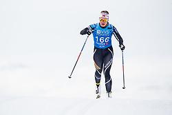 April 6, 2018 - Alta, NORWAY - 180406 Stine Nicolaysen competes in the Women's 5 km Classic during the Norwegian Championship on April 6, 2018 in Alta..Photo: Jon Olav Nesvold / BILDBYRÃ…N / kod JE / 160235 (Credit Image: © Jon Olav Nesvold/Bildbyran via ZUMA Press)