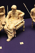 3-D recreation of the Olympian gods of the Parthenon frieze. By sculptors from the Tsukuba University, and Tokyo University of the Arts.