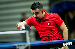 Turan Nesim of Turkey plays final match during Day 4 of SPINT 2018 - World Para Table Tennis Championships, on October 20, 2018, in Arena Zlatorog, Celje, Slovenia. Photo by Vid Ponikvar / Sportida