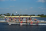 Sarasota. Florida USA.  2017 FISA World Rowing Championships, Nathan Benderson Park. General view of the boating area with crews boating for and evening training session.<br /> <br /> Sunday  17.09.17   <br /> <br /> [Mandatory Credit. Peter SPURRIER/Intersport Images].<br /> <br /> <br /> Leica Camera AG -  LEICA M (Typ 262)  lens  not selected mm. 100 ISO 1/2000/sec. f 3.4