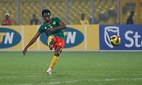 Photo: Steve Bond/Richard Lane Photography.<br />Cameroun v Zambia. Africa Cup of Nations. 26/01/2008. Samuel Eto'o shoots