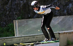 Mojmir Nosal of Slovakia at FIS Continental cup Ski-jumping Summer Kranj, on July 6, 2008, Kranj, Slovenia. (Photo by Vid Ponikvar / Sportal Images)<br /> <br /> / Sportida)