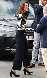 The Duke and Duchess of Cambridge launch The King's Cup Sailing Regatta at the Cutty Sark, Greenwich, London, UK, on the 7th May 2019. 07 May 2019 Pictured: Catherine, Duchess of Cambridge, Kate Middleton. Photo credit: James Whatling / MEGA TheMegaAgency.com +1 888 505 6342