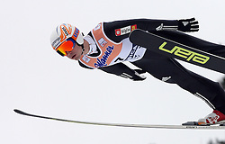 Robert Hrgota (SLO) at Flying Hill Individual in 2nd day of 32nd World Cup Competition of FIS World Cup Ski Jumping Final in Planica, Slovenia, on March 20, 2009. (Photo by Vid Ponikvar / Sportida)