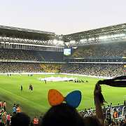 Fenerbahce's and Besiktas's during their Turkish Superleague soccer derby match Fenerbahce between Besiktas at Sukru Saracaoglu stadium in Istanbul Turkey on Sunday 07 October 2012. Photo by TURKPIX
