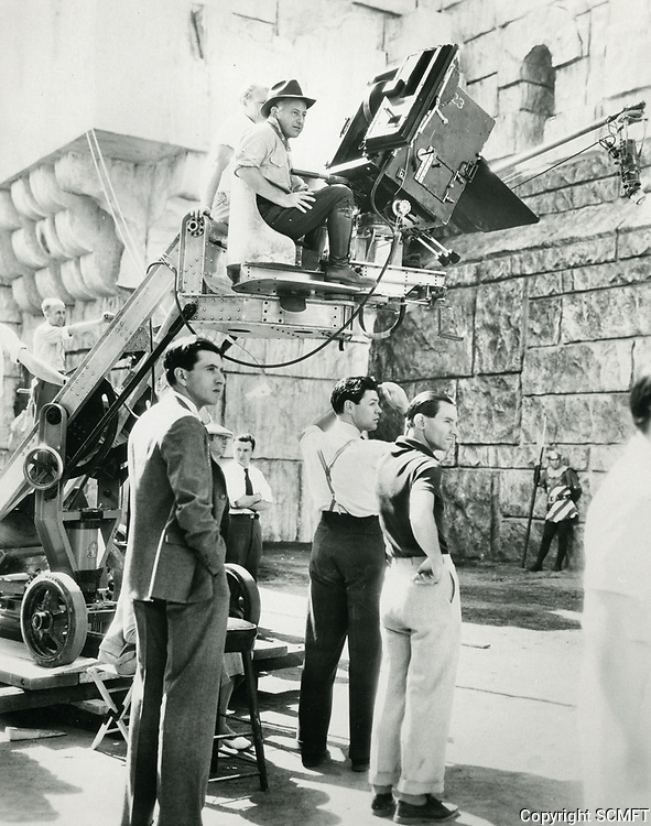 1935 Filming at Paramount Studios