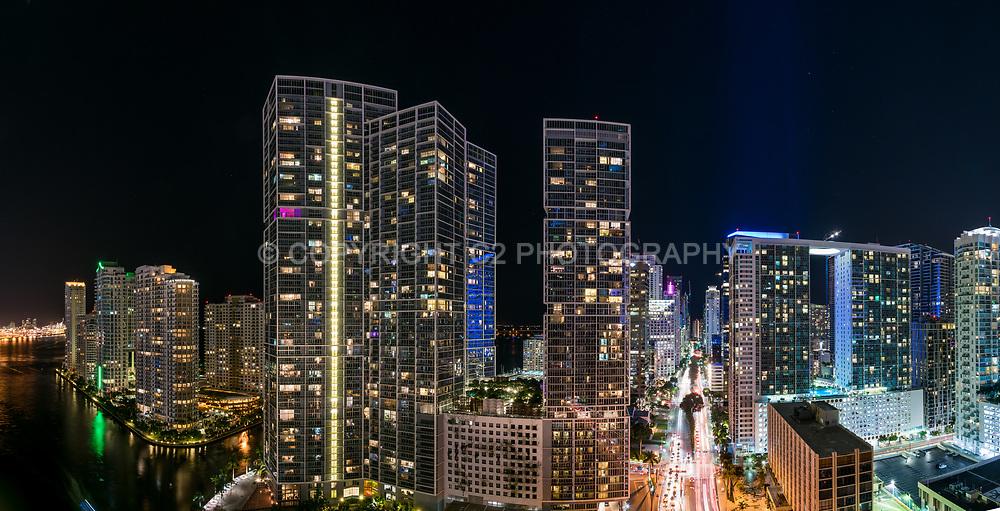 Brickell area of downtown Miami.
