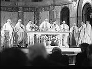 Garda Siochana Diamond Jubilee..1982.21.02,1982.02.21.1982.21st February 1982..Image of the altar as the priests celebrate the Mass.