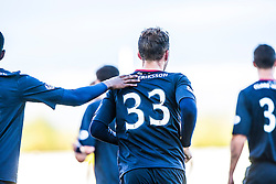 Falkirk's Rory Loy celebrates after scoring their second goal.<br /> Falkirk 2 v 1 Queen of the South, Scottish Championship 5/10/2013, played at The Falkirk Stadium.<br /> ©Michael Schofield.
