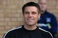 Photo: Ashley Pickering.<br /> Southend United v Colchester United. Coca Cola Championship. 06/04/2007.<br /> Southend manager Steve Tilson in good mood before the match