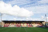 A general view of The Northern Commercials Stadium before the The FA Cup match between Bradford City and Chesterfield at the Northern Commercials Stadium, Bradford, England on 4 November 2017. Photo by Craig Zadoroznyj.