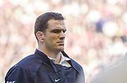 Twickenham. Surrey, UK., 16th February 2002, Six Nations International Rugby,  RFU Stadium, England vs Ireland,  [Mandatory Credit: Peter Spurrier/Intersport Images],<br /> <br /> The Lloyds TSB Six Nations Championship<br /> England v Ireland<br /> RFU - Twickenham<br /> 16/02/2002, Martin JOHNSON,<br /> <br /> <br /> <br />  <br /> <br /> <br /> <br /> <br /> <br /> <br /> <br /> <br /> <br /> <br /> Salesi Finau