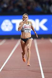 August 8, 2017 - London, England, United Kingdom - Rebekka HAASE, Germany, during 200 meter  heats in London at the 2017 IAAF World Championships athletics on August 8, 2017. (Credit Image: © Ulrik Pedersen/NurPhoto via ZUMA Press)
