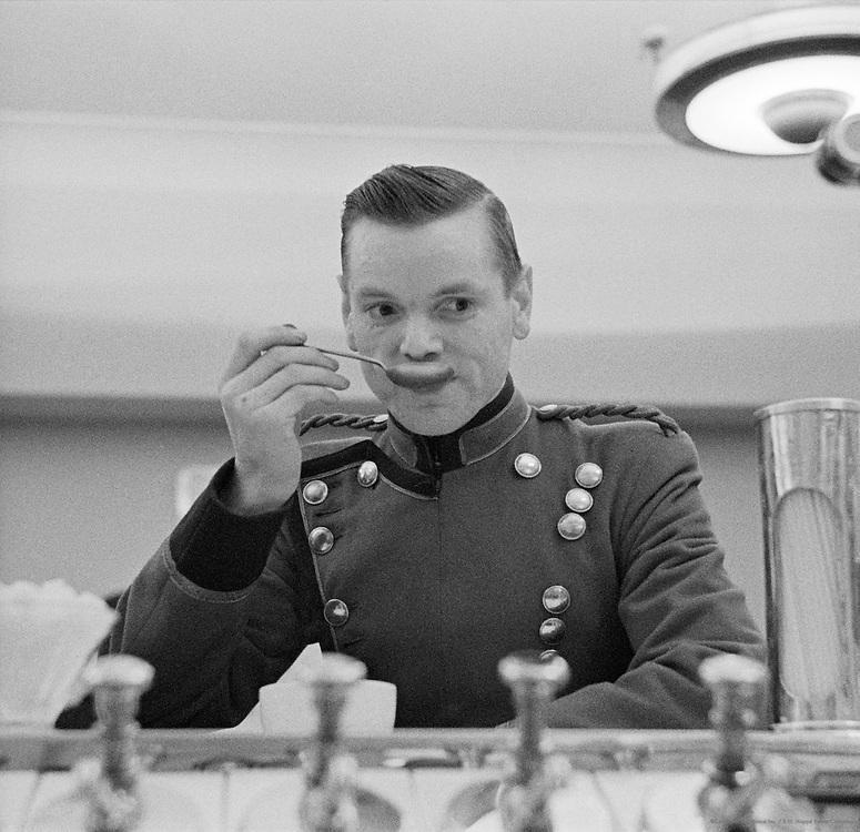 Behind the Counter at Snack Bar, London, 1939