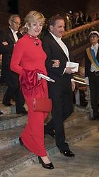 Jean Chu, Stefan Lˆfven <br /> <br />  <br /> <br />  beim Nobelbankett 2016 im Rathaus in Stockholm / 101216 <br /> <br /> <br /> <br /> ***The Nobel banquet, Stockholm City Hall, December 10th, 2016***