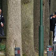 NLD/Lage Vuursche/20130816 - Uitvaart prins Friso, Laurentien en zoon Claus-Casimier