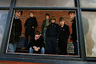 Wirral-based band The Coral, pictured in their home town of Hoylake, prior to their forthcoming British and European tour and the release of the single from the new album entitled 'The Invisible Invasion'..