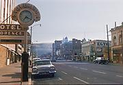 CS03663 Stoverud's Jewelry store, 107 N Higgins, Missoula Montana. Process date July 1960.