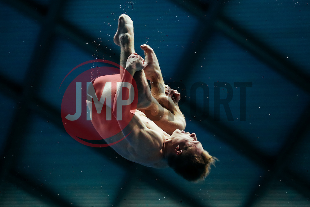 Eventual Gold medallist Jack Laugher from City of Leeds Diving Club competes in the Mens 3m Springboard Final - Mandatory byline: Rogan Thomson/JMP - 11/06/2016 - DIVING - Ponds Forge - Sheffield, England - British Diving Championships 2016 Day 2.