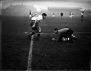 12/11/1952<br /> 11/12/1952<br /> 12 November 1952<br /> Waterford v Transport  in the F.A.I. Shield play off at Dalymount Park, Dublin.