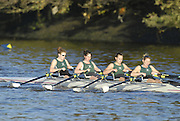 London, GREAT BRITAIN, Maidenhead RC II, Jun W4X pennent winner[Bow, Aimee CAMPBELL, Katie Lion, Louise ENTWISTLE and stroke, Ally BROOKS,  pass Chiswick Pier  during the  the 2006 Fours Head of the River Race, passing, Chiswick Pier, at Cornery Reach, on Sat,  18.11.2006. Chiswick, West London, [Photo, Peter Spurrier/Intersport-images]k, West London, [Photo, Peter Spurrier/Intersport-images]. Rowing Course: River Thames, Championship course, Putney to Mortlake 4.25 Miles