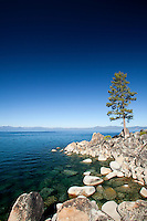 Scenic image of Lake Tahoe, CA.