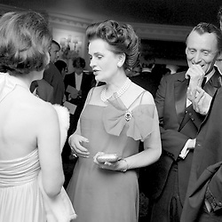 9 June 1969 - Margaret, Duchess of Argyll at a ball in Lonon.<br /> <br /> Photo by Desmond O'Neill/Desmond O'Neill Features Ltd.  +44(0)1306 731608  www.donfeatures.com