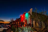 Starlight Theatre Restaurant and Bar, Terlingua Ghosttown, near Big Bend National Park, Texas USA.
