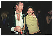 GHISLAINE MAXWELL, Plum & Lucy Sykes 30th birthday. Lot 61, 550 West 21 St. NY. 4/12/99
