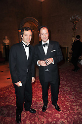 Left to right, DAVID HEYMAN and MATTHEW VAUGHN at a dinner hosted by HRH Prince Robert of Luxembourg in celebration of the 75th anniversary of the acquisition of Chateau Haut-Brion by his great-grandfather Clarence Dillon held at Lancaster House, London on 10th June 2010.
