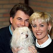 Dana Winner + vriend + hond in Noordwijkerhout