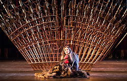 A new production of Verdi's dark operatic thriller, given by the Edinburgh International Festival's 2017 resident company Teatro Regio of Turin, conducted by Gianandrea Noseda and directed by Emma Dante. The production runs from 18-20 August at the Festival Theatre in Edinburgh.<br /> <br /> Pictured: Anna Pirozzi (Lady Macbeth)